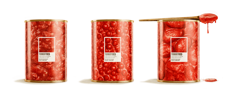100% Italian Tomatoes